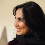 Fauzia Minallah at the launch of her book.
