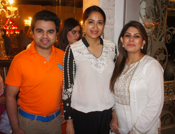 Maheen Kardar at the launch of Karma.