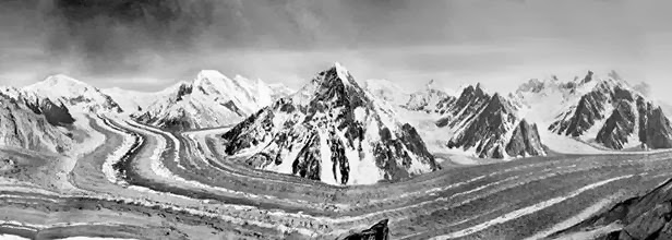Upper Baltoro - Photo taken by Filippo De Filippi (1912)