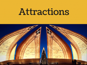 Attractions in Islamabad city