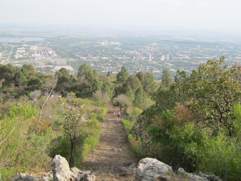 Margalla Hills national park in Islamabad