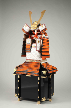 Amor of o-yoroi type with helmet of hoshi-kabuto type