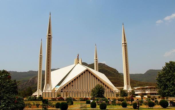 Faisal Mosque - the biggest Mosque of Pakistan