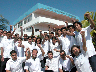 Pakistni doctors in Cuba