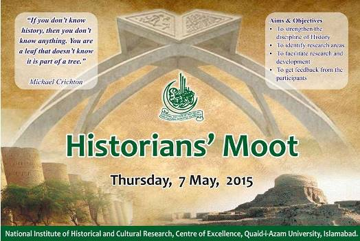 Historians' Moot by NIHCR in Islamabad