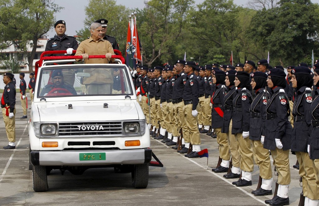Punjab Chief Minister Shahbaz Sharif attended the police academy graduation ceremony in Islamabad.