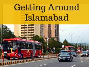 Getting around Islamabad