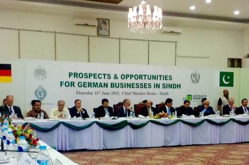 German business delegation headed by Deputy Minister of the Federal Foreign Office, Mr. Steinlein, attends conference on Perspectives of German Business opportunities in Pakistan