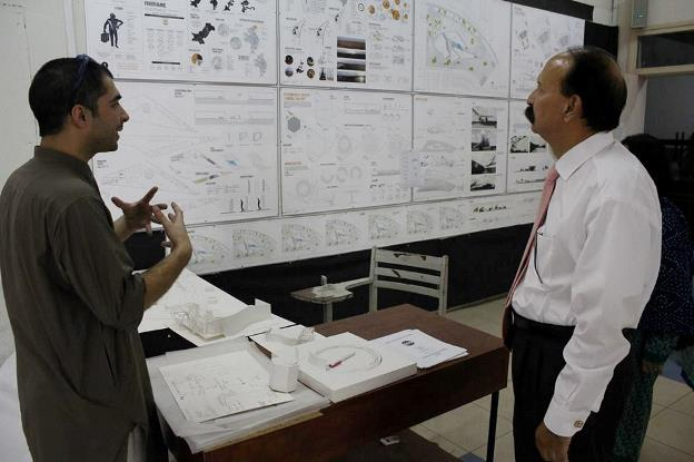 Exhibtion by studnet of Department of Architecture and Design of COMSATS, Islamabad