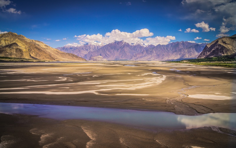 The Indus Basin at Skardu. Photo: Adeel Shaikh