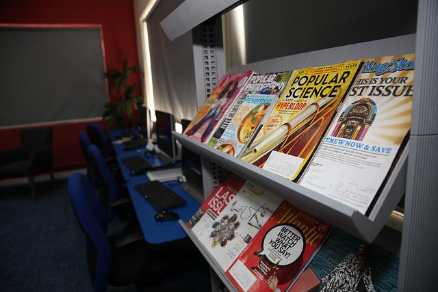 Susan B. Anthony Reading Room in Rawalpindi