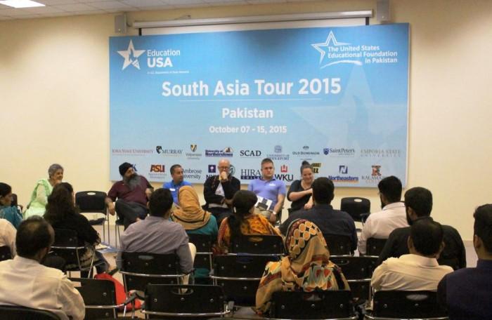Around 19 U.S. universities visited Pakistan to promote U.S study options for Pakistani students
