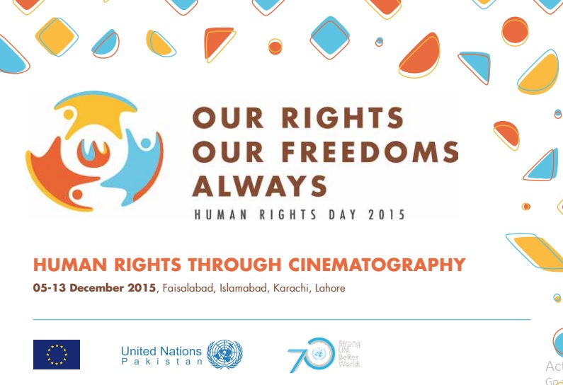 Human Rights through Cinematography events in Pakistan