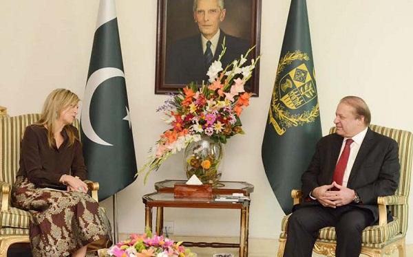 Dutch Queen Máxima in Islamabad