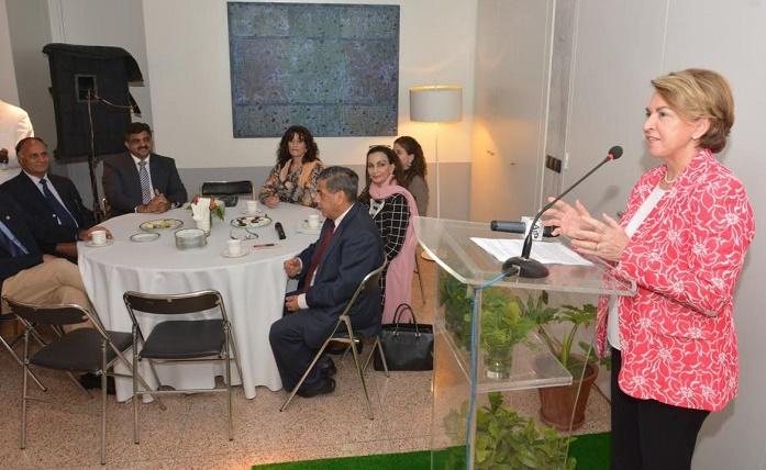 Ambassador of France to Pakistan, H.E. Mrs. Martine Dorance