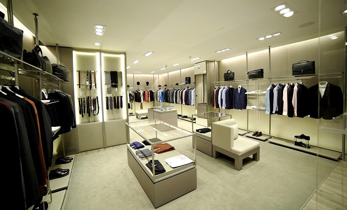 View of Armani Collezioni Store recently launched in Islamabad