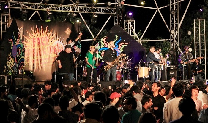 Grupo Fantasma performs at Music Mela in Islamabad