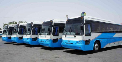 Inter-city Bus service from Islamabad