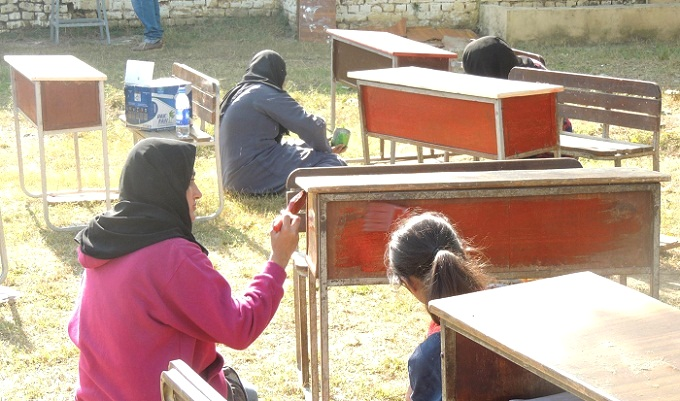 NUST Community Service Club students help renovate Islamabad Model College for Boys H-11