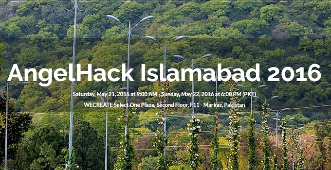 AngelHack Hackathon Islamabad 2016