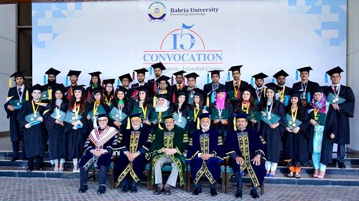 Bahria University Islamabad's 15th Convocation celebrates student achievement
