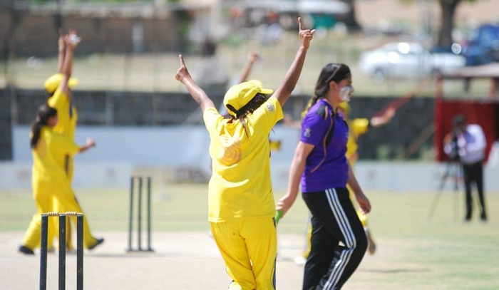 Girls Cricket Cup tournament held in Islamabad students of four schools in Islamabad took part in cricket tournament hosted by Australian High Commission and PCB