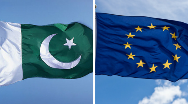 EU is Pakistan's largest trading partner and major political & development partner.