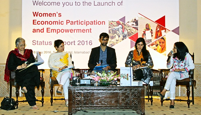 Women's Economic Participation and Empowerment - Status Report 2016