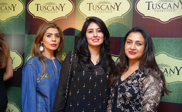 Lots of foodies joined in the re-launch of Tuscany Courtyard - Italian restaurant - in Islamabad.