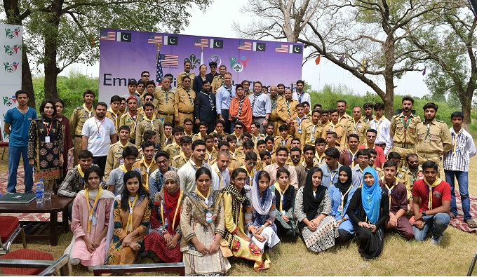Pakistan Boy scouts event Islamabad