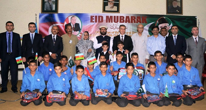 Azerbaijan Embassy distributes Eid Gifts among Pakistani children
