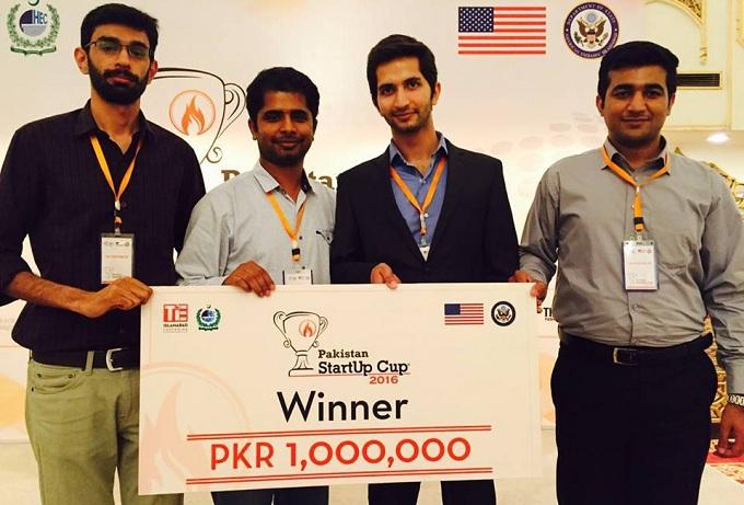 Cowlar wins Pakistan Startup Cup 2016