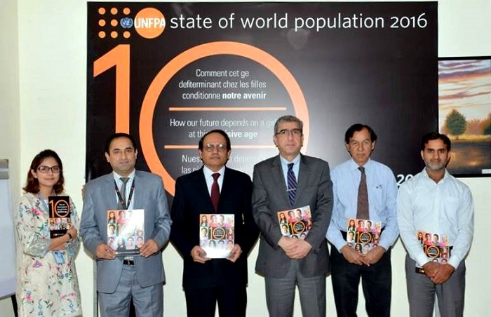 UNFPA annual State of the World Population Report 2016