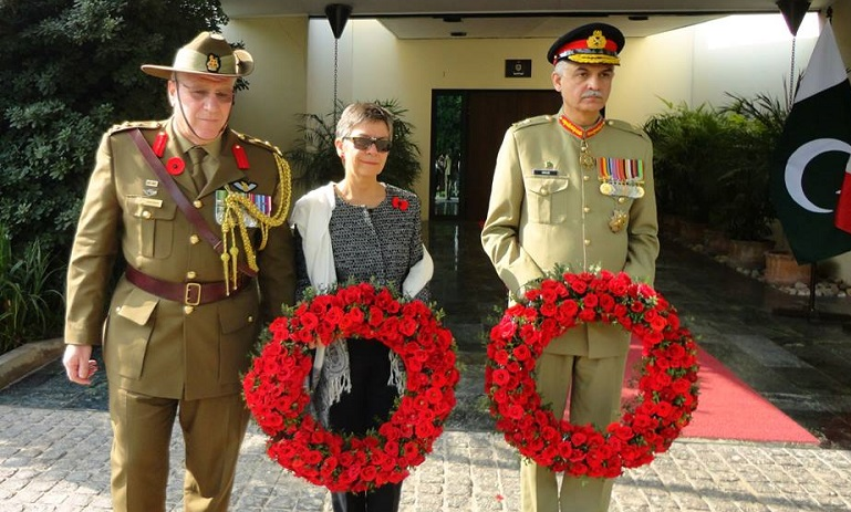 Australia marks Remembrance Day in Pakistan to honour fallen soldiers of World War I