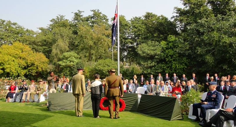 Australia marks Remembrance Day in Islamabad, Pakistan