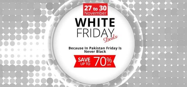 Pakistan White Friday sale