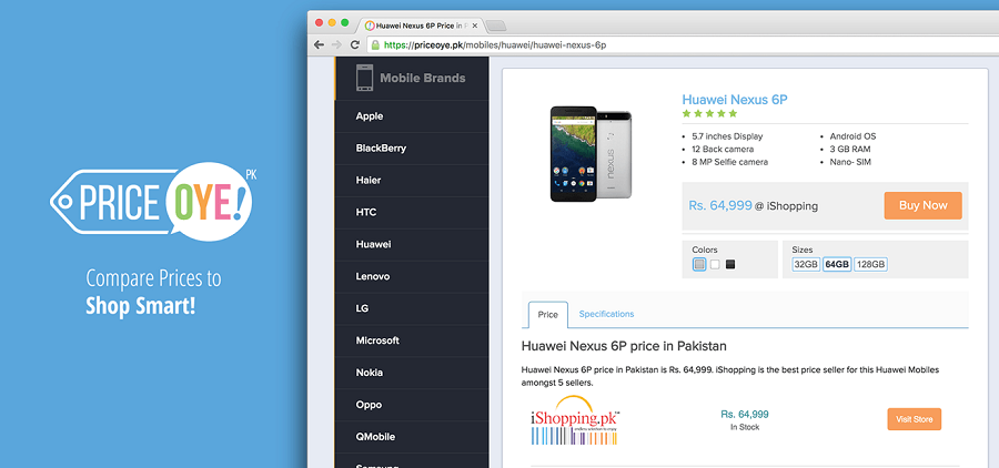 Interview with PriceOye.pk - Pakistan's leading price comparison website