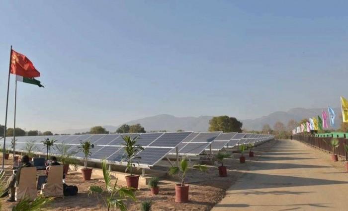 Islamabad's fatima jinnah park goes solar