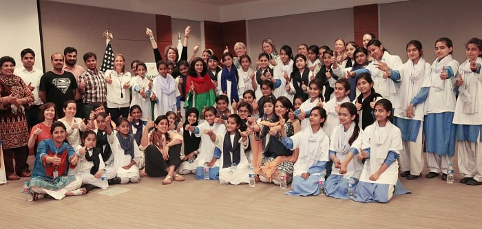American Sports Experts Visit Pakistan to Promote Girls Empowerment