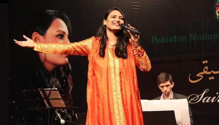 Pakistan's first opera singer Saira Peter