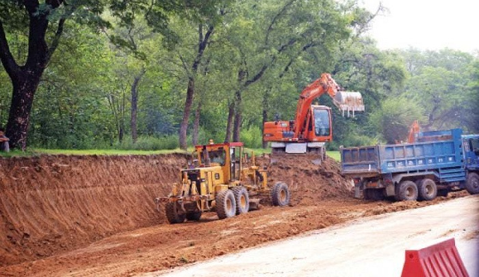 Hundreds of chopped for the metro Bus extension project in Islamabad