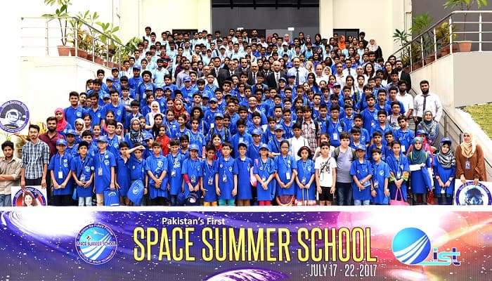 Pakistan's first Space Summer School begins at IST