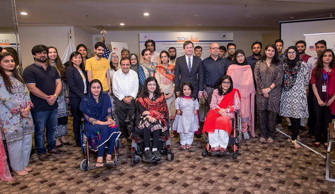 US Embassy organises Tech Camp for persons with disabilities