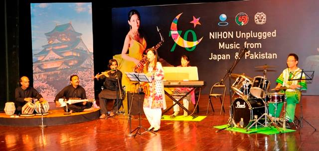 Music from Japan and Pakistan
