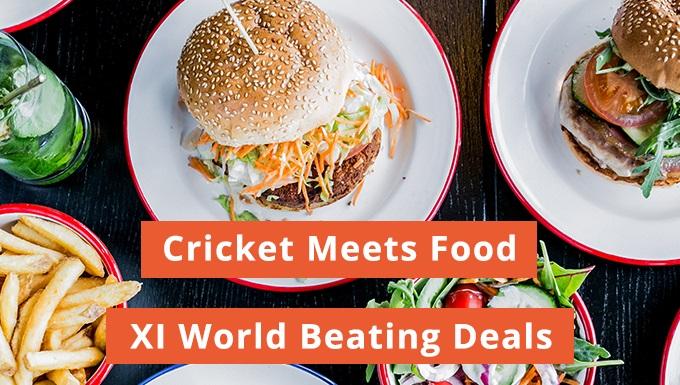 Foodpanda's World XI deals offer