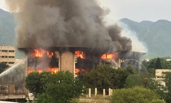Islamabad fire