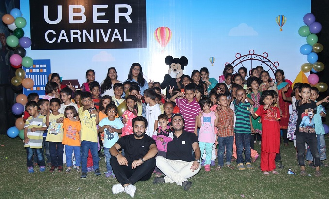 Uber Carnival at SOS Village