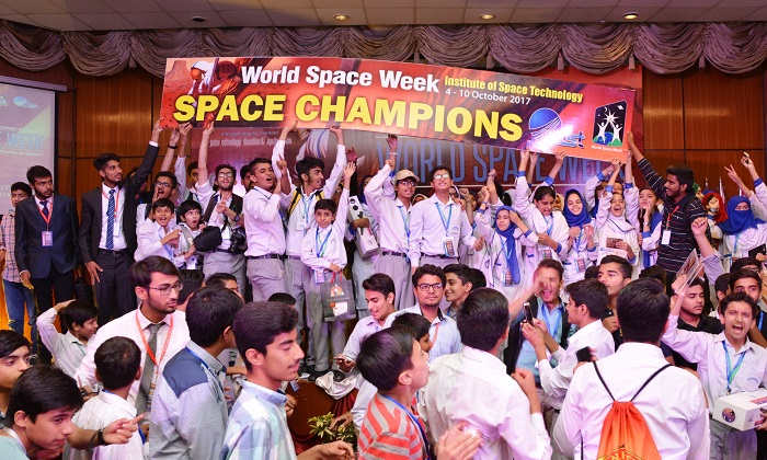 World Space Week in Pakistan