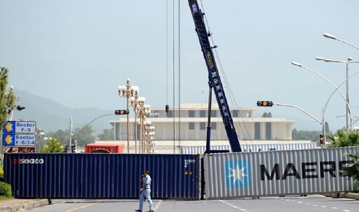 islamabad container