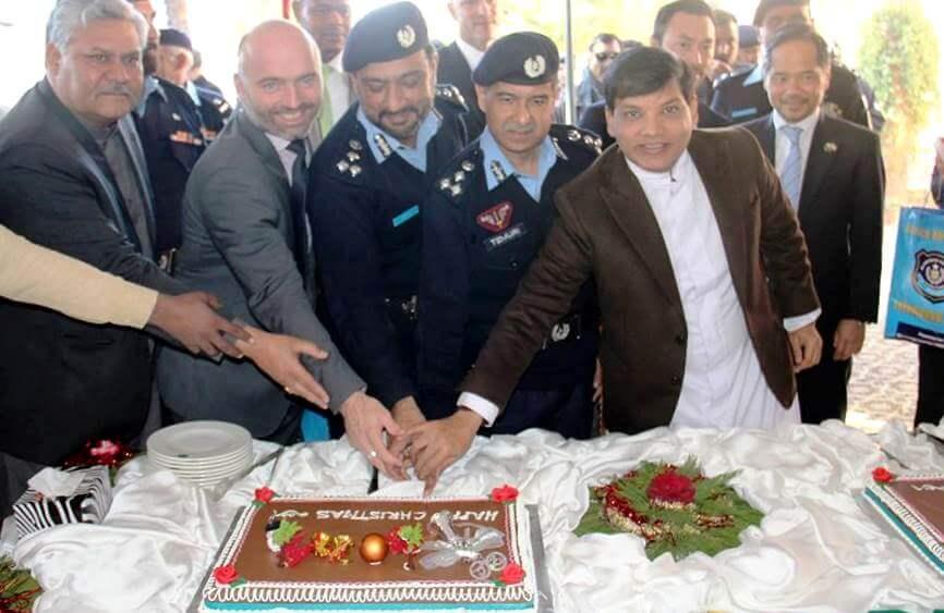 Islamabad Police Christmas celebration